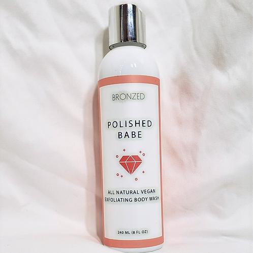 POLISHED BABE - All Natural Vegan Exfoliating Body Wash
