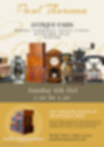 Copy of Antique Store Flyer Template - M