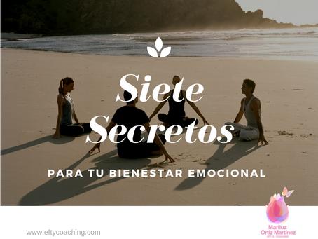 7 SECRETOS PARA TU BIENESTAR EMOCIONAL