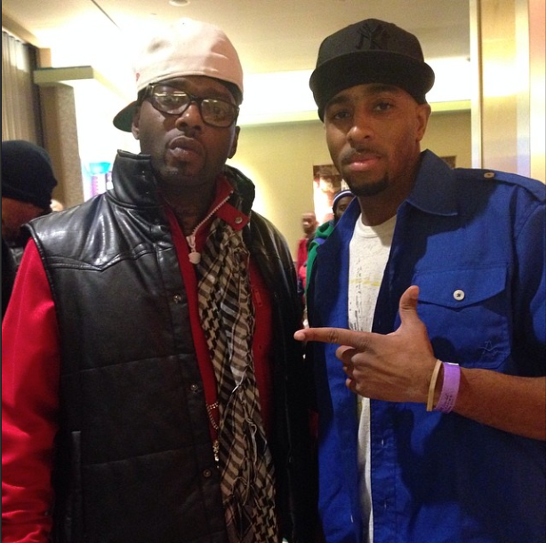 Treach of Naughty By Nature and Daryl Carter of Nvision Studios