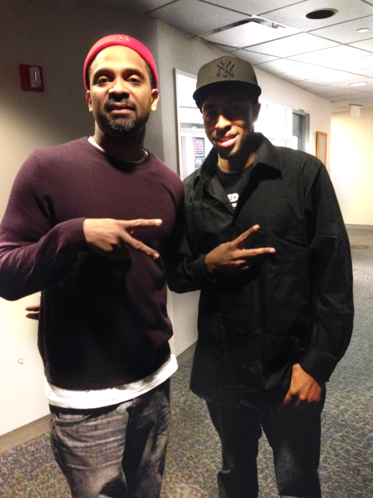Mike Epps and Daryl Carter Nvision Studios