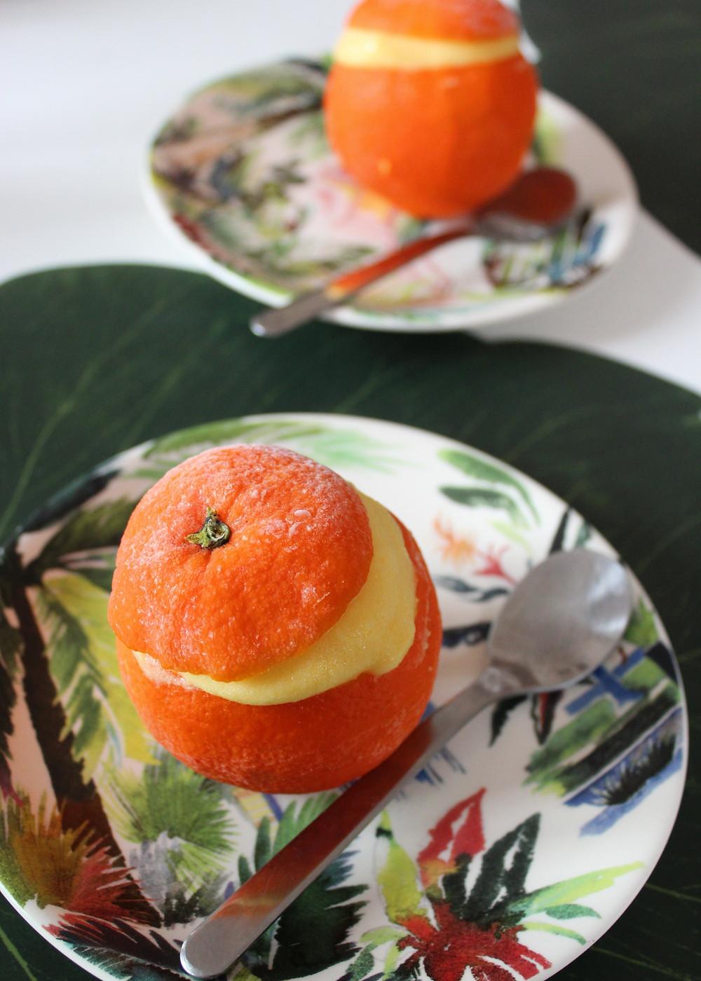 Loïs CLEMENT TACHER orange givrée conseils Nutritionniste biarritz bayonne anglet