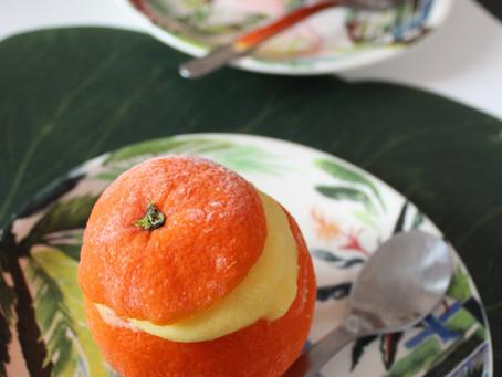 Oranges givrées ❄
