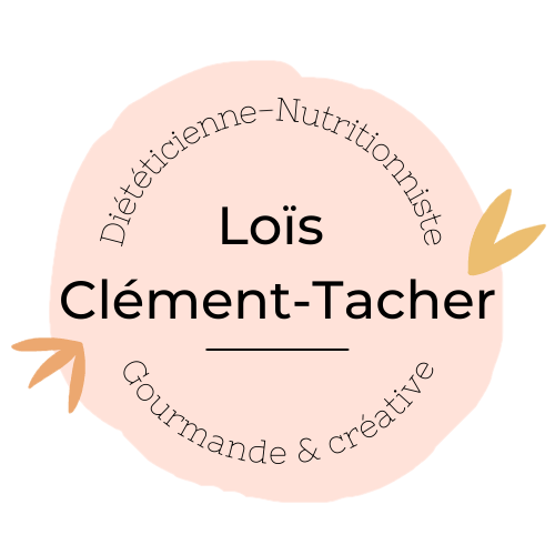 Logo Lois Clement Tacher Dieteticienne Biarritz Bidart Nutritionniste Nutrition perte de poids recettes saines
