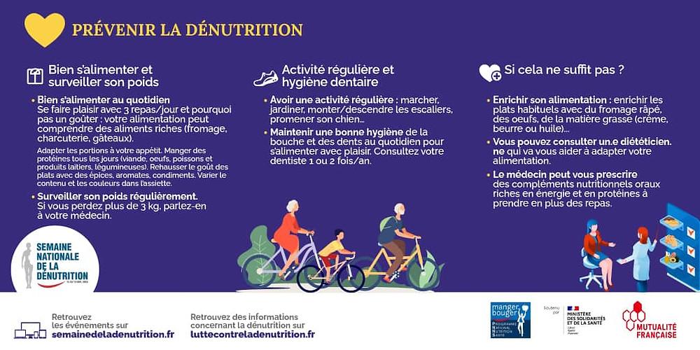 Prevenir la denutrition Lois Clement Tacher Dieteticienne a Biarritz en cabinet a domicile et a distance