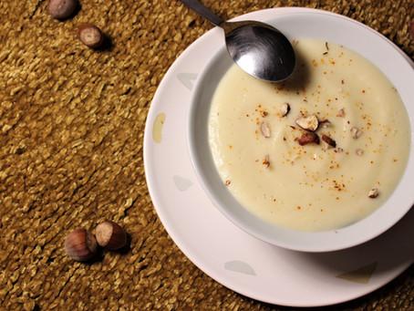 Crème de panais à la poire