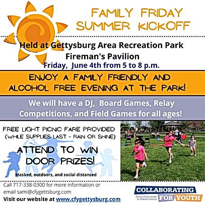 Family Friday - Summer Kickoff social me