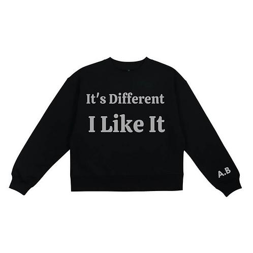 It's Different - I Like It Sweat Black