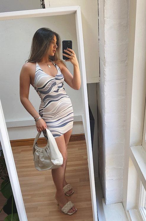 Halterneck Mini Dress