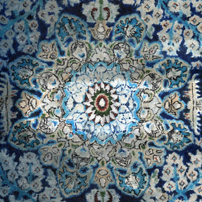 Mandala I 2014 Öl auf Hartfaserplatte 40 x 30 cm