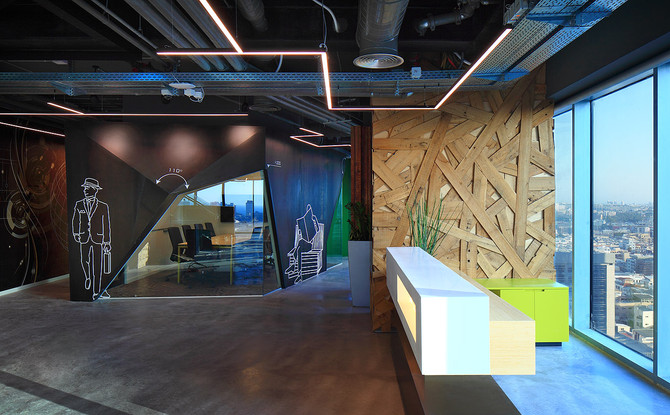 אוטודסק ישראל - עיצוב המשרדים החדשים