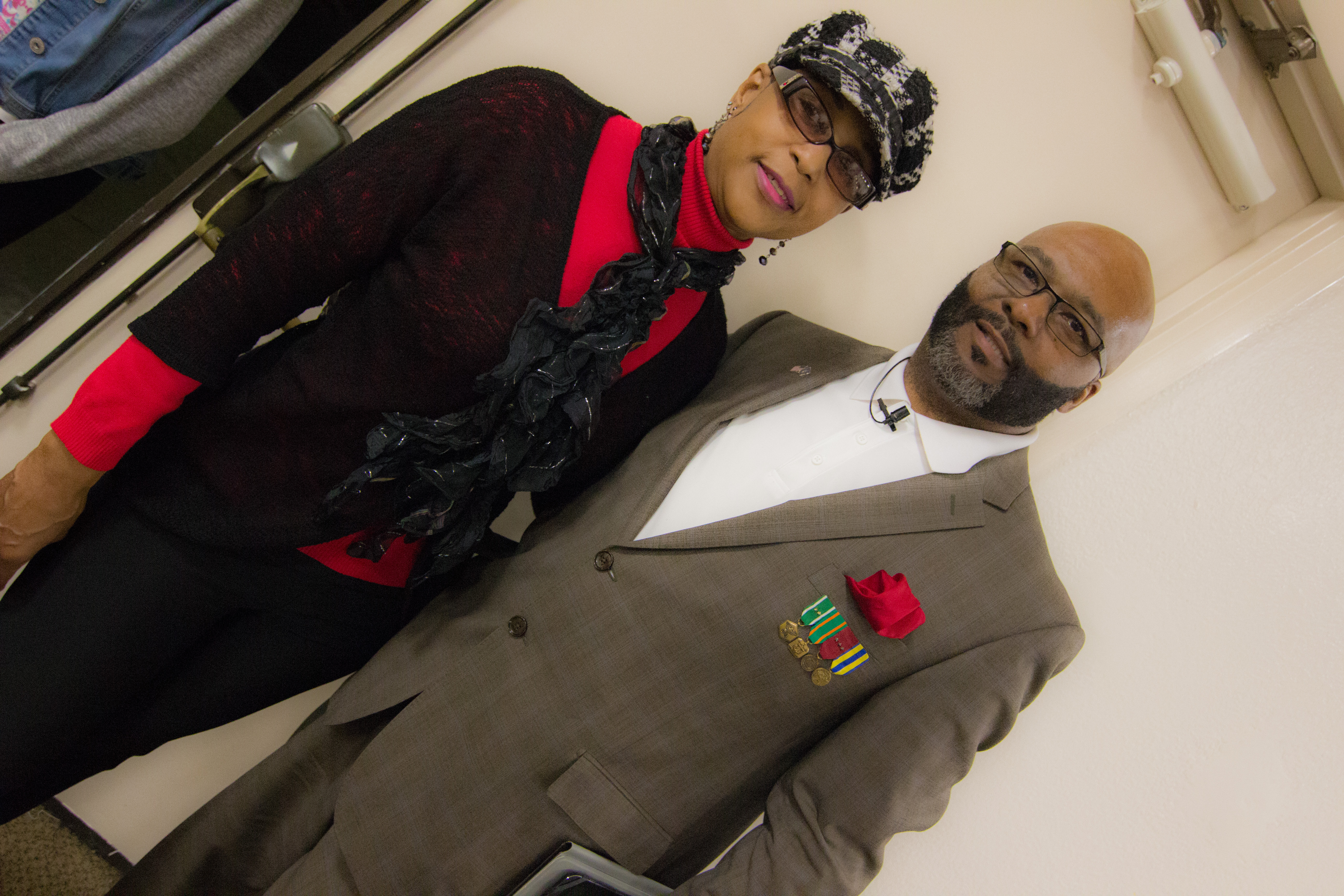 Pastor Eley and First Lady Joyce