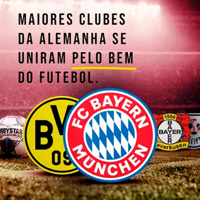 Campeonato alemão e a solidariedade