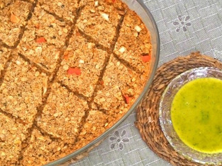 Quibe de Abóbora e Castanhas Vegetariano - Na Cozinha com Vitória Tembe