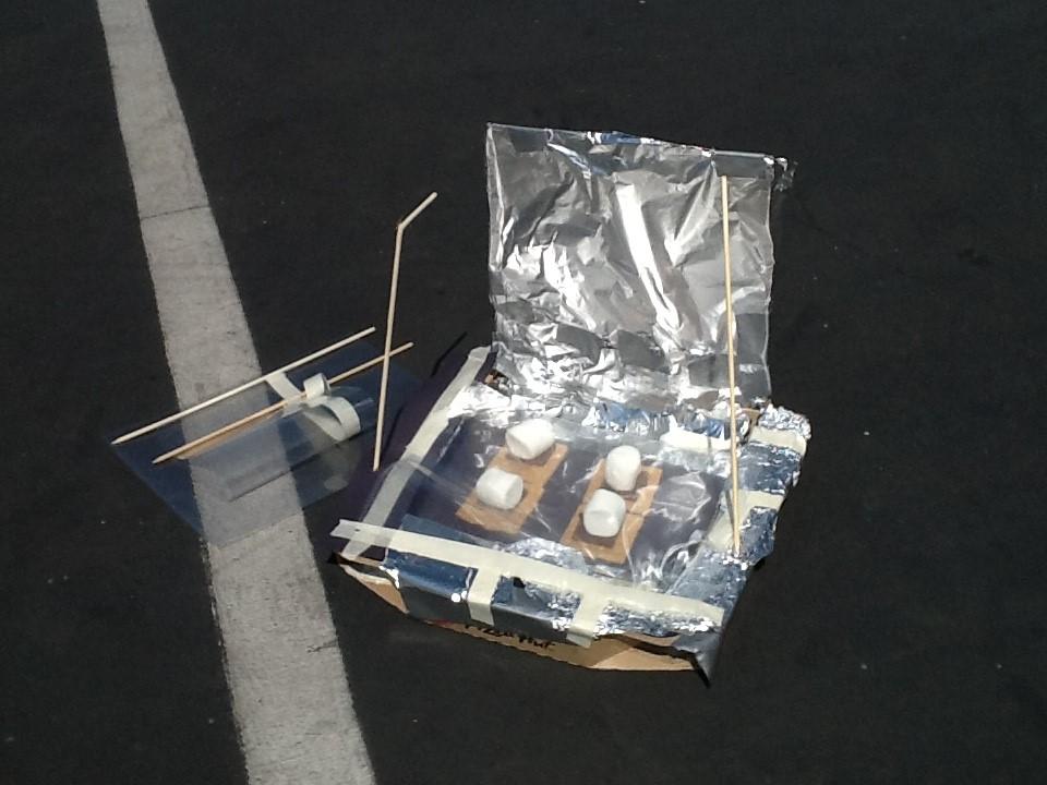 SOLAR OVEN-SMORES STEM