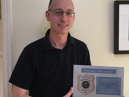 International Software Developer Awarded S.H.I.E.L.D.