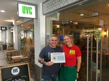 First Vegan Business to gain S.H.I.E.L.D.