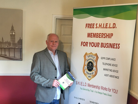 Congratulations and Welcome, to Gary O'Connell, the new  S.H.I.E.L.D. Ambassador for Stoke on Trent!