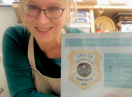 Cotswold Artist Awarded SHIELD for GDPR Compliance!