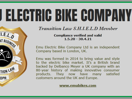 Electric Bike Company gains SHIELD Holder status!
