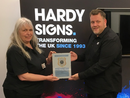 THIRD Year of SHIELD for National Signs Company!