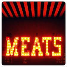 Ícone caixa de luz Meats
