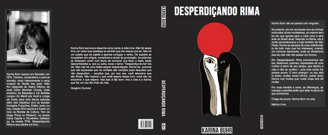 Capa e contra Livro Karina Buhr