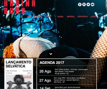 Site Karina Buhr