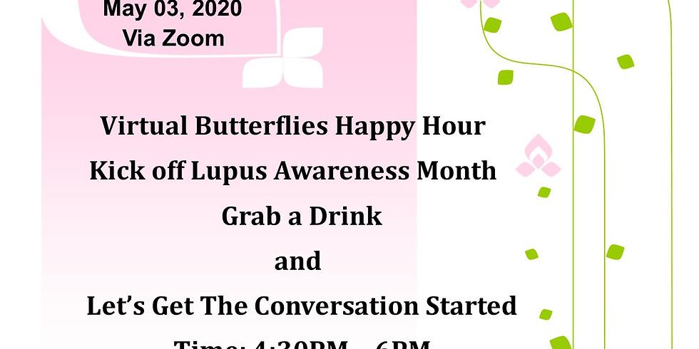 Virtual Butterflies Happy Hour