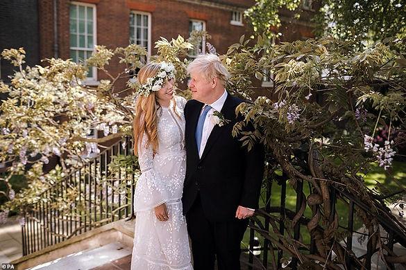 Boris Johnson wedding to Carrie Symonds