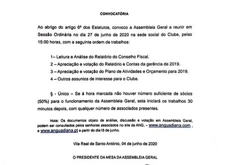 Assembleia Geral Ordinária - Convocatória