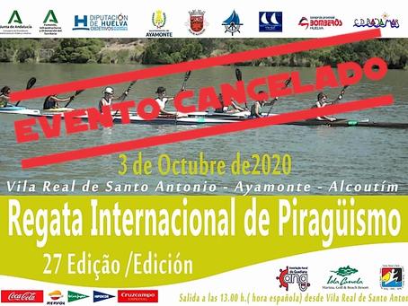 Regata Internacional de Canoagem - 27ª edição