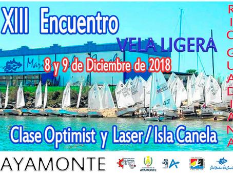 XIII Encontro de escolas de vela-Rio Guadiana 2018