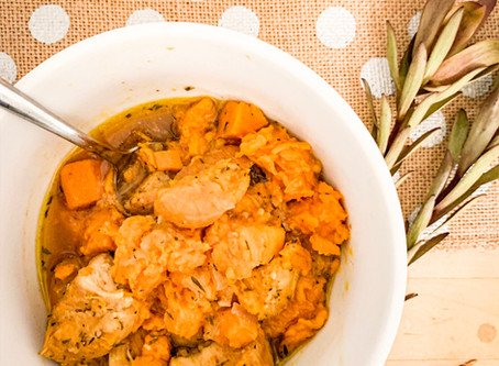 One Pot Dinner: Chicken & Sweet Potato