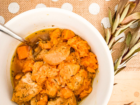 One Pot Dinner: Chicken & Sweet Potato