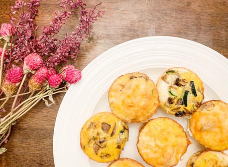 Meal Prep Garden Vegetable Egg Bites