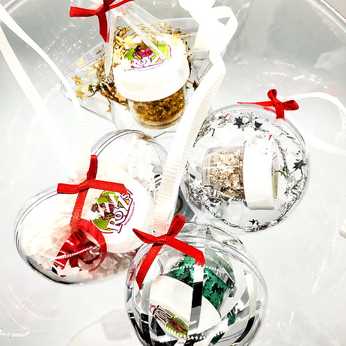 Holiday Edible Glitter Ornament Gift Pack