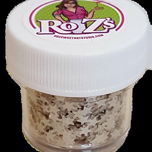 Ro Z's Silver Edible Shimmer Stars