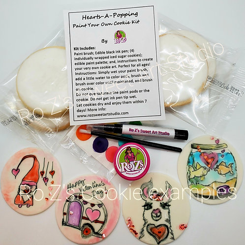 Hearts-A-Poppin Cookie Kit