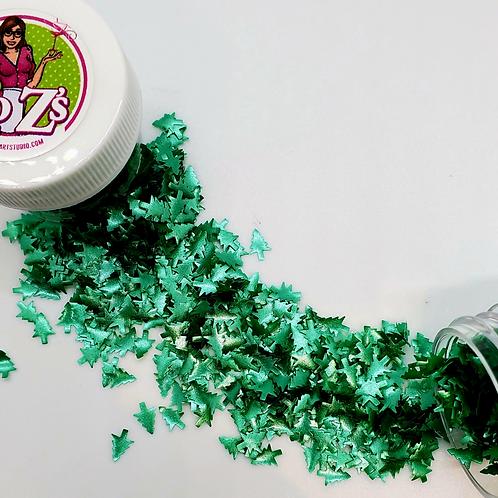 Ro Z's Edible Glitter Green Trees