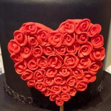 Heart 2 Tier Cake