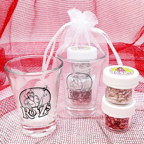 Heart and Star Glitter Sprinkles Kit