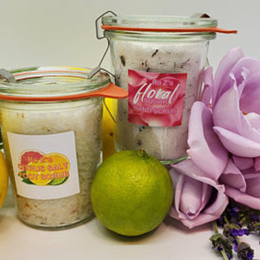Ro Z's Sugar and Salt Scrub Kit