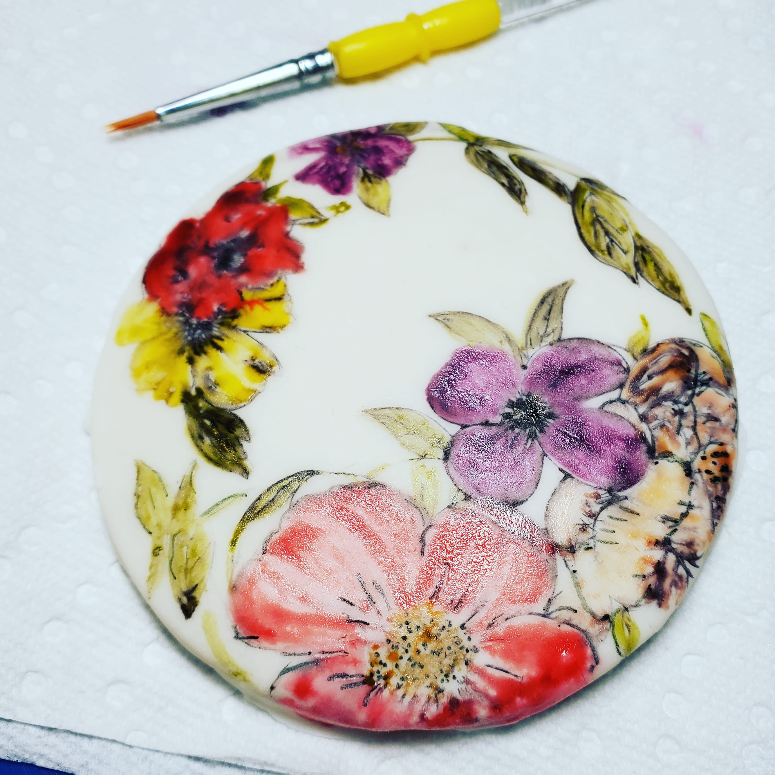 Cookie Watercolor Art Experience