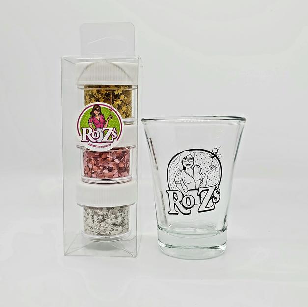 Ro Zs 3-Pak Shot Glass
