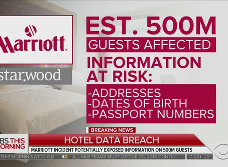 Marriott Starwood Data Breach Highlights Silent Cyber Risk in Acquisitions