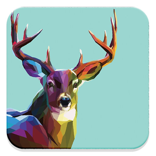 COLOR POLYGON DEER