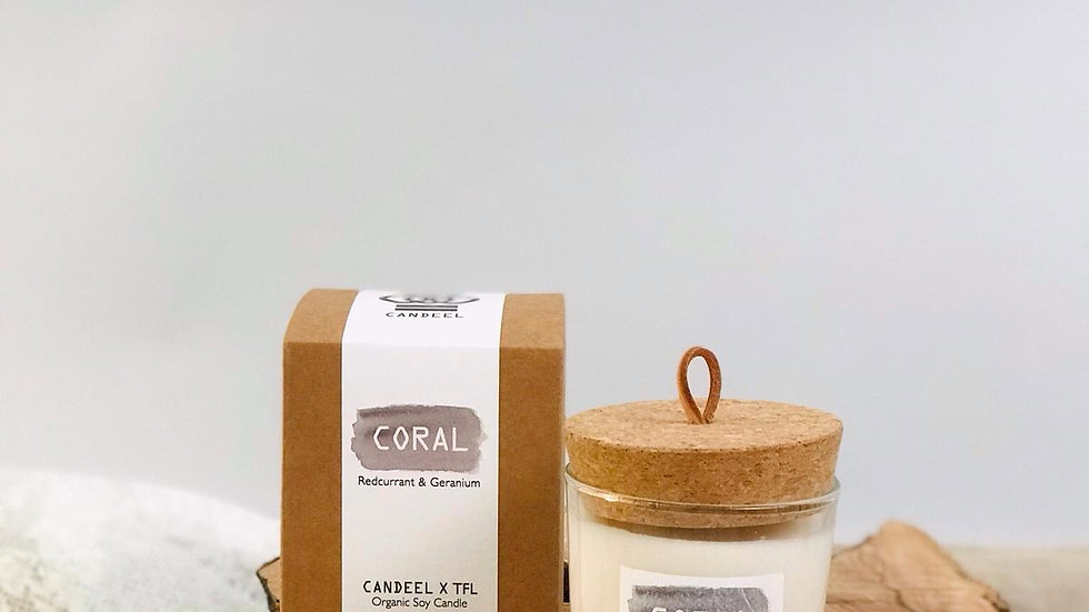 Coral Candle