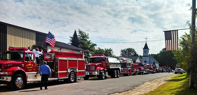 Onota township fire department