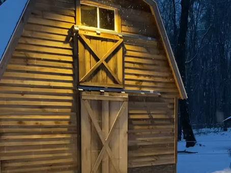 Our Peaceful barn